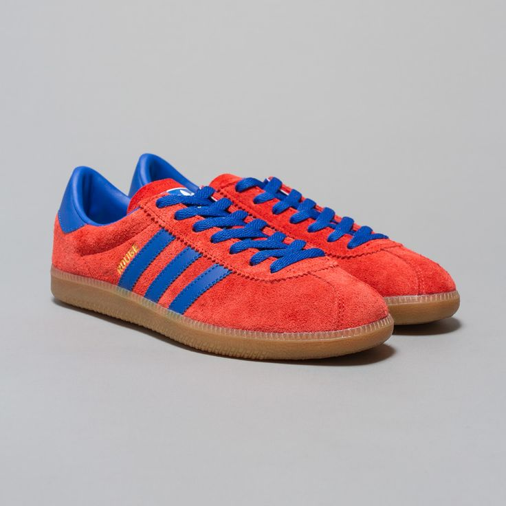 adidas Rouge in Red / Blue / Gum5