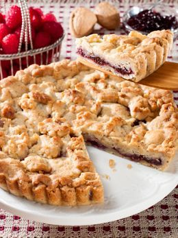 Raspberry Walnut Tart made in Vermont!