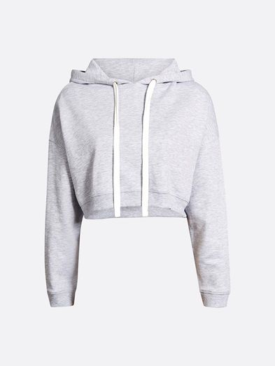Shorty sweater | 7189341 | Harmaa | BikBok | Suomi