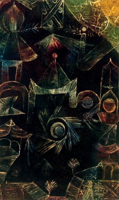Paul Klee - Cosmic Architecture                                                                                                                                                                                 More