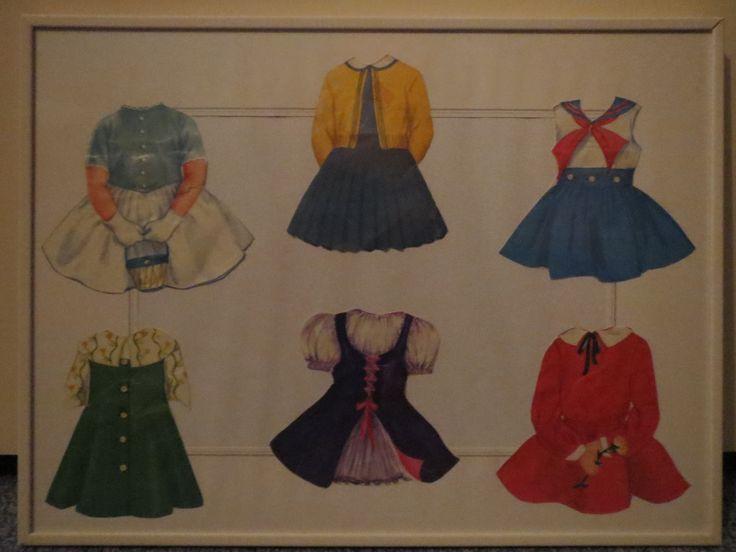 Papieren jurken