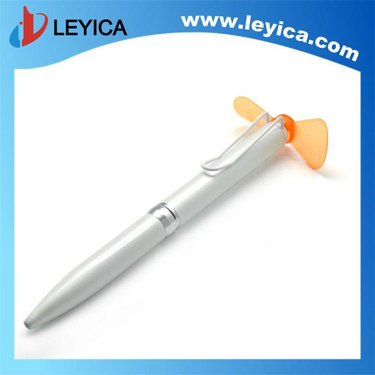 Colorful fan pen flashing massage pen fan air fan pen