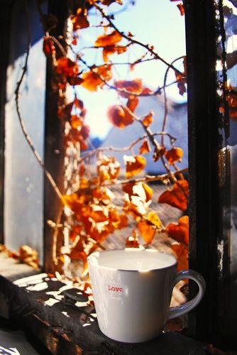 October Coffee...pumpkin spice is nice!