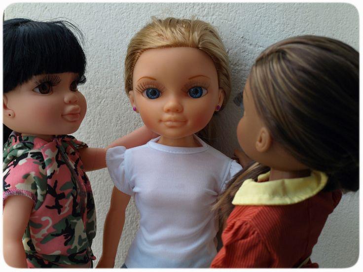 ¡Mis mejores amigas! #Nancy #dolls #muñecas #poupées #juguetes #toys #bonecas #bambole