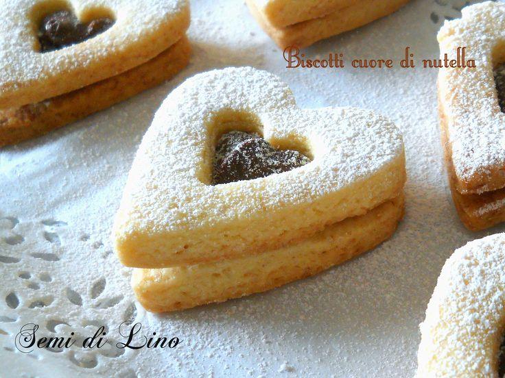 Biscotti cuore di nutella: una dolce idea per il tuo San Valentino