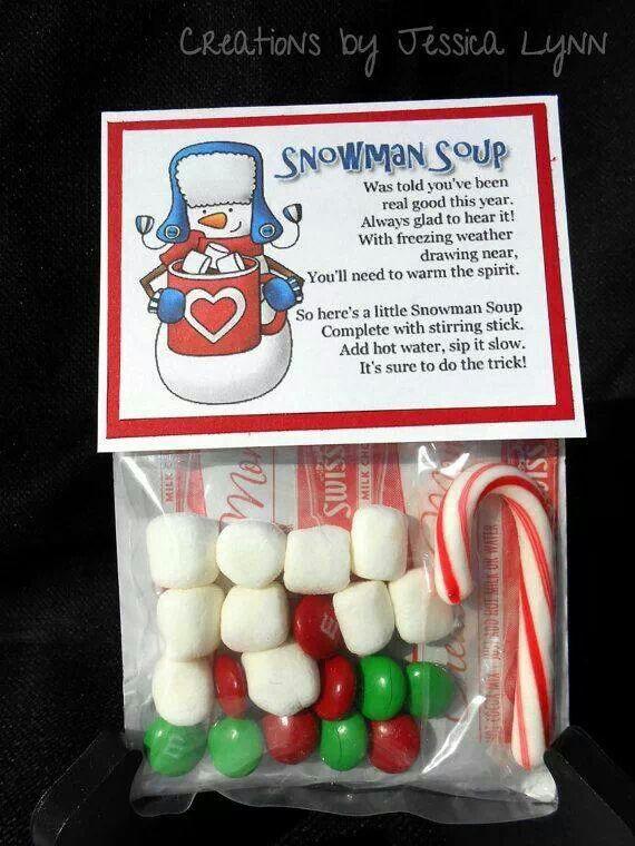 Snowman soup (hot chocolate)