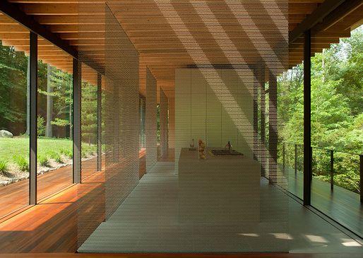 Glass/Wood House by Kengo Kuma Architect, New Canaan, CT 2011. Image © Undine Pröhl   Archinect