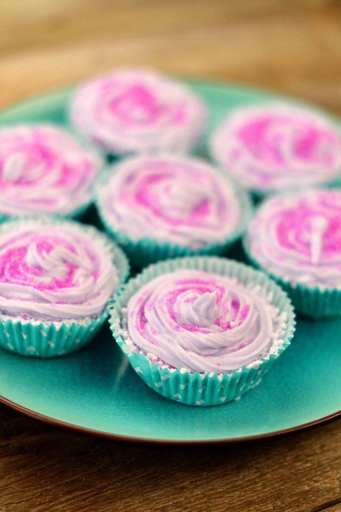 DIY Cupcake Bath Bombs