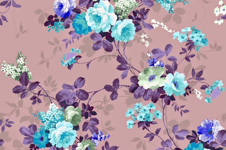 Vintage Floral Wallpaper Freebies! – Martha Acosta