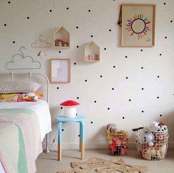 Casitas de madera para dormitorios infantiles
