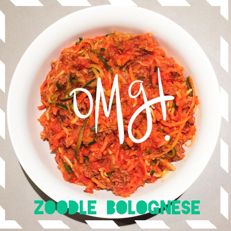 Sweet potato and zucchini zoodle bolognese #glutenfree #paleo #realfood #guiltfree