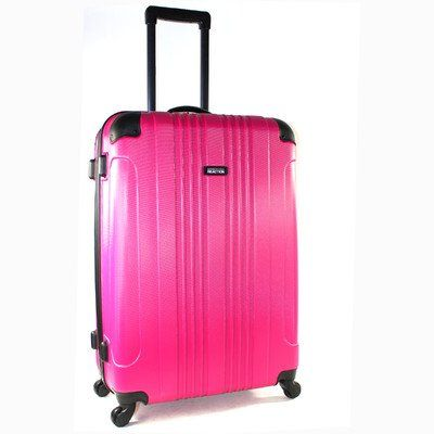 Kenneth Cole Reaction Out Of Bounds 28 Inch 4-Wheel Upright Luggage Magenta One Size