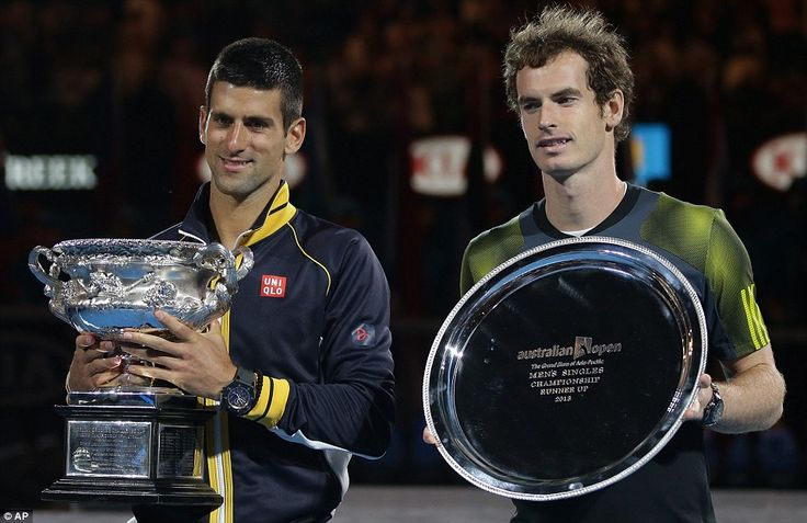 Serbia's Novak Djokovic beats Andy Murray at Australian Tennis Open (Jan13)