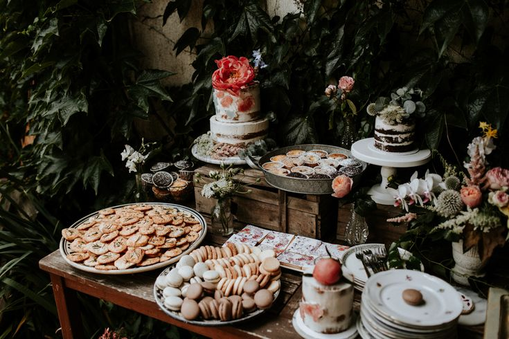 Lush floral elopement on the meadow  Pinewood Weddings