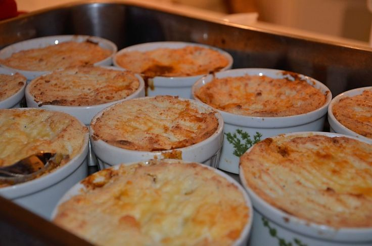 My presentation for a potluck of Gordon Ramsey's Cottage/Shepard's Pie  - BIG HIT!!