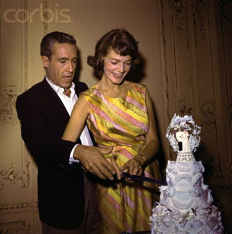 Lauren Bacall and Jason Robards, Jr - boy! talk about marrying the ghost of your late husband!