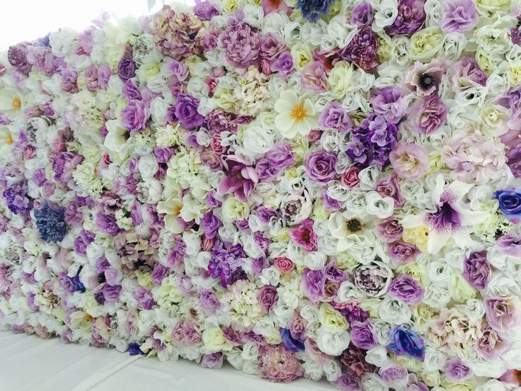 Luscious Lilac #whiteluxe #flowerwall #melbourne