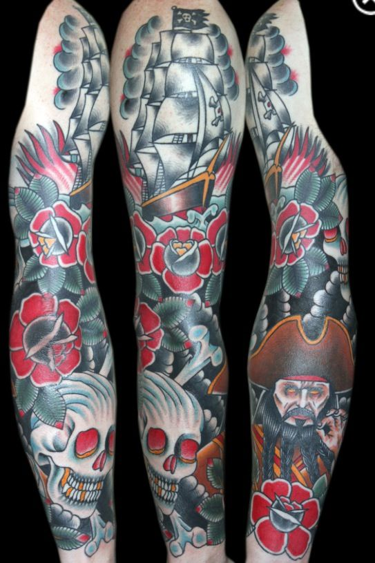Myke chambers full sleeve won first place at a philly for Philadelphia tattoo shops