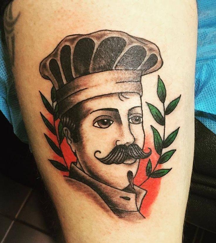 Tatuaje de cocinero realizado en nuestro centro de Montera de Madrid.    #tattoo #tattoos #tattooed #tattooing #tattooist #tattooart #tattooshop #tattoolife #tattooartist #tattoodesign #tattooedgirls #tattoosketch #tattooideas #tattoooftheday #tattooer #tattoogirl #tattooink #tattoolove #tattootime #tattooflash #tattooedgirl #tattooedmen #tattooaddict#tattoostudio #tattoolover #tattoolovers #tattooedwomen#tattooedlife #tattoostyle #tatuajes #tatuajesmadrid #ink #inktober #inktattoo