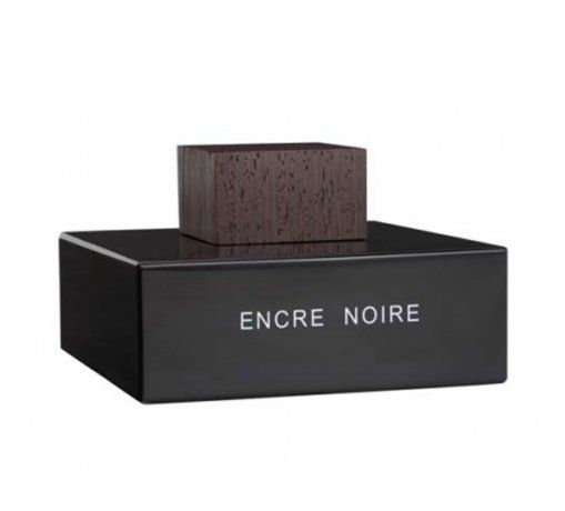 Encre Noire Crystal Flacon, numbered and signed by lalique