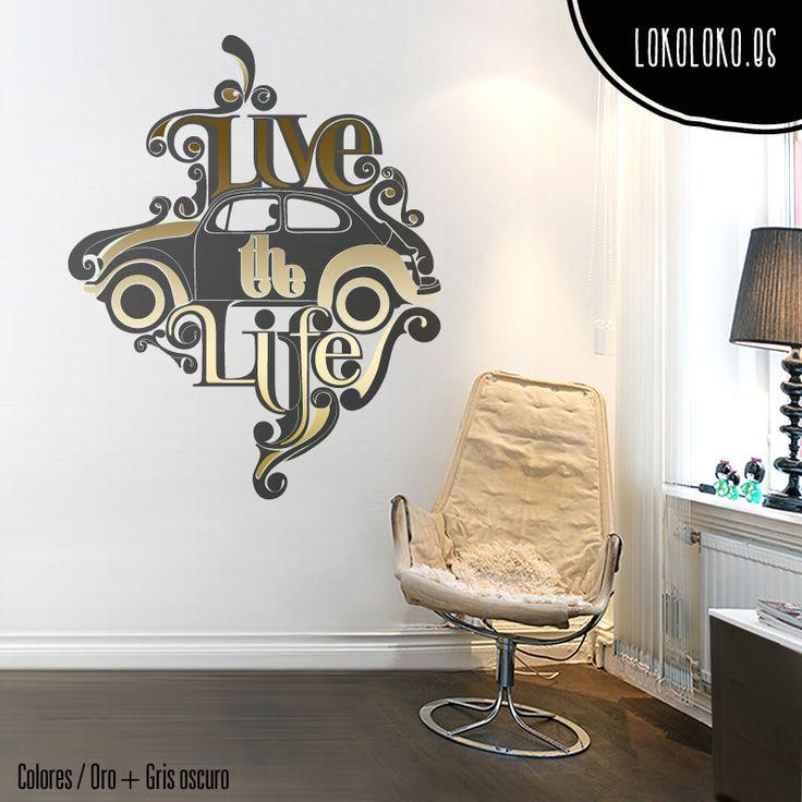 120 best textos vinilos decorativos images on pinterest for Vinilos decorativos textos