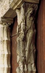 Trumeau, South Portal, Priory Church of Saint-Pierre, Moissac. France, c. 1115.