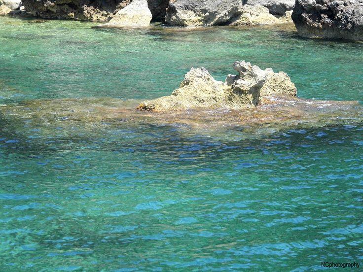 more rocks fount at Mahon Harbor, Menorca  -by Naomi Clark