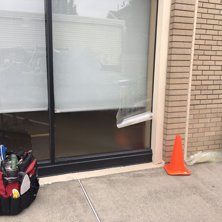 Glass Protection Film Removal + Replacement = A much