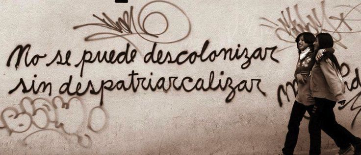 Grafitti de Mujeres Creando Mercè Galán — Feminicidio.net — 11/05/2015 España, Valencia - El sábado 9/05/2015 tuvo lugar en el IVAM un pase de 80 minutos de varios audiovisuales d