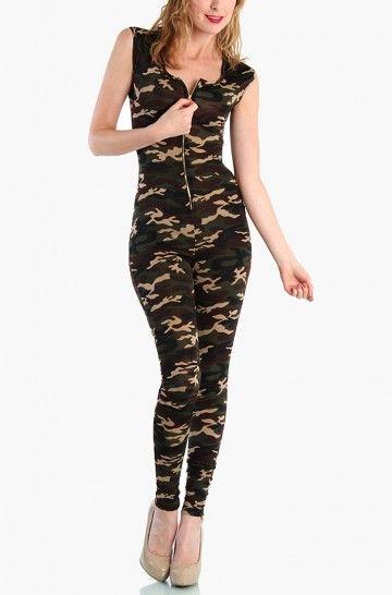 $35 Camouflage Jumpsuit     http://www.lovemelrose.com/tops/camouflage-jumpsuit.html