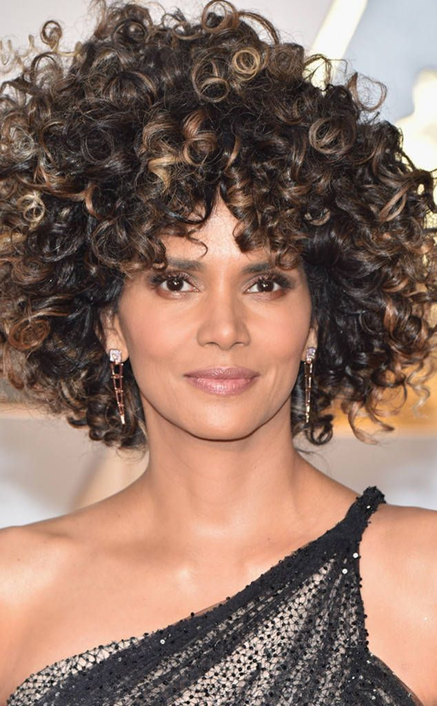 Halle Berry from Oscars 2017: Best Beauty Looks  Every award show, we need at least one hairstyle to make a statement. Thank you, Halle, for this moment.