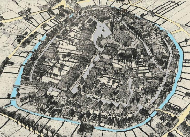view 1826 met gracht