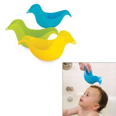 Skip Hop 194 174 Bath Toy Dunck In Green Blue Yellow