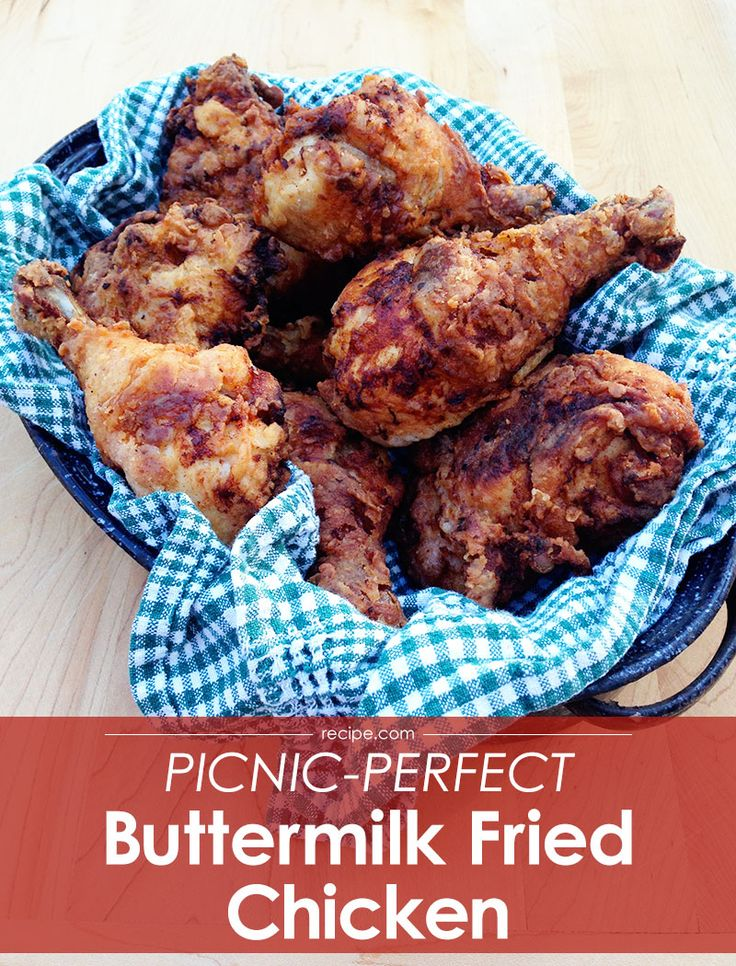 Get the perfect #friedchicken for your next picnic.