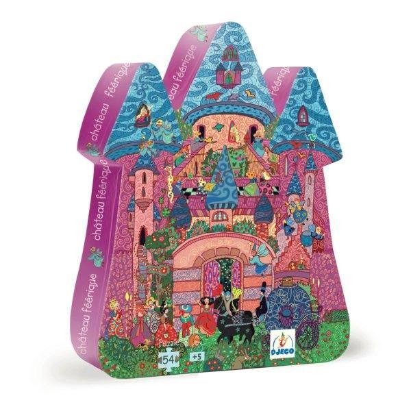 Djeco - Puzzle Fairy Castle 54 piece