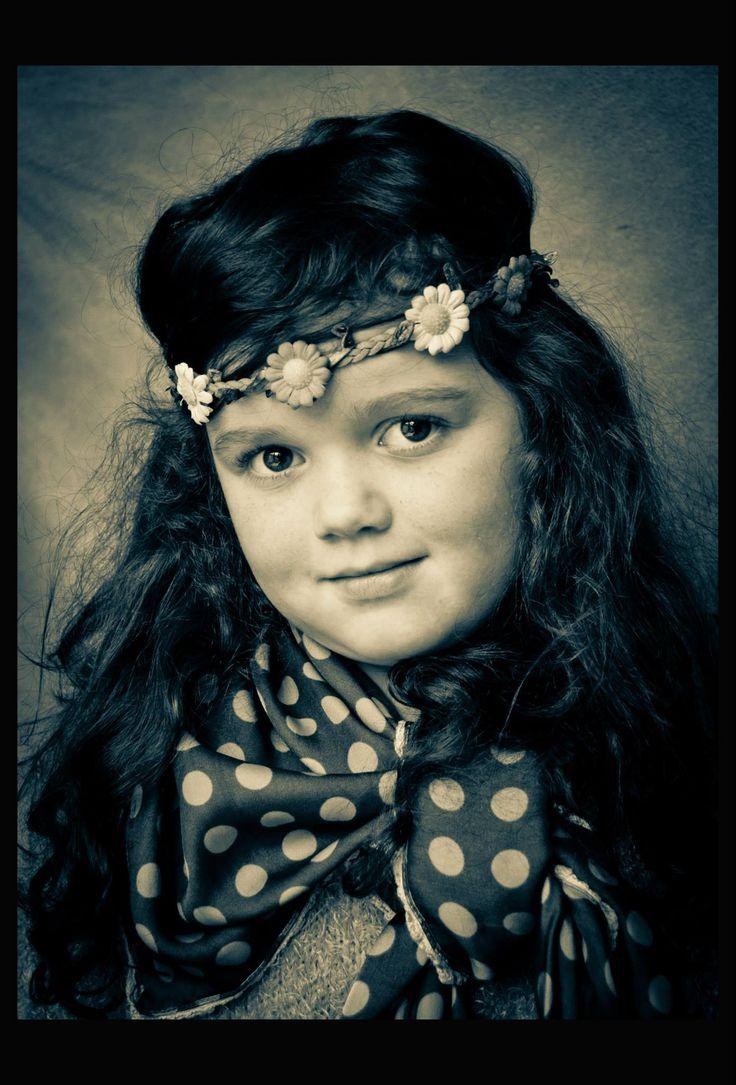 Portret fotografie Belle