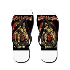 When you're looking for a pair of comfortable Flip Flops that will knock your socks off, look no further.Our custom thong flip flops are water proof and come personalized with designs that reflect your style.We have mens, womens and kids flip flops, each ready for you to buy online and wear around the house, at the beach or to the mall. These decorated flip flop slippers will make for an endless summer of fun.  $19.99