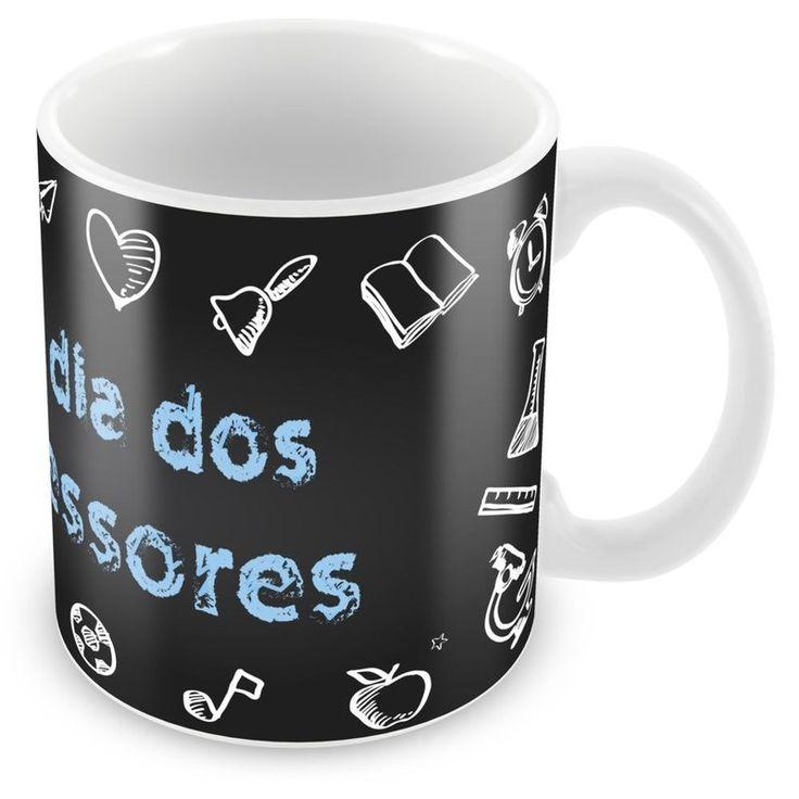 Caneca Porcelana Personalizada Dia dos Professores - ArtePress | Brindes Personalizados, Canecas, Copos, Xícaras