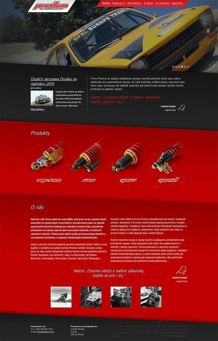 www.protlum.cz #webdesign