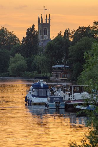 "Hampton Court, London, England. We took a ""barge"" on the Thames back from here to London. It was wonderful."