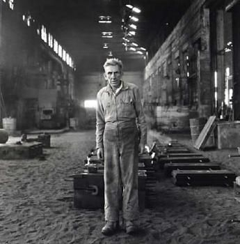 Joe Sandford, Labourer, Steel Foundry.