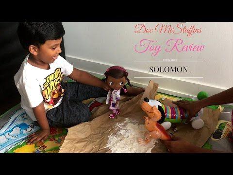 Doc McStuffins Toy Review - Solomon