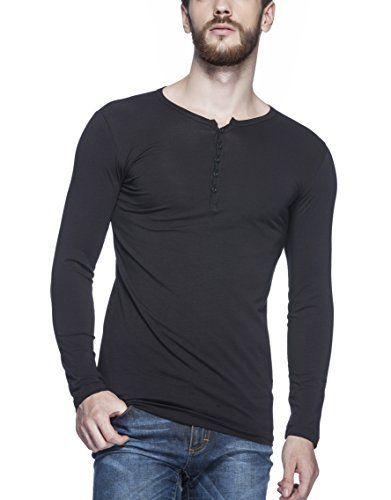 Tinted Men's Solid Henley Full Sleeve T-Shirt  Tinted Men's Solid Henley Full Sleeve T-Shirt-B014LBU5V2-12.76-3  Expires Nov 2 2017