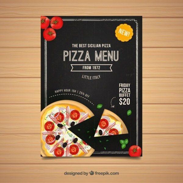 Pizza Flyer Template 31 Free Premium Download In 2020 Pizza
