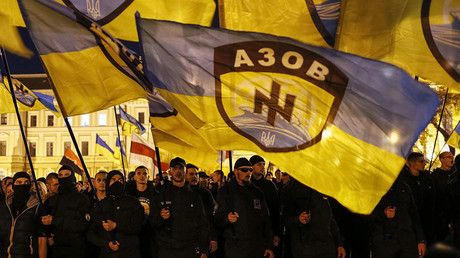 Growing number of German & intl fighters join Ukrainian neo-Nazi Azov Battalion – report https://tmbw.news/growing-number-of-german-intl-fighters-join-ukrainian-neo-nazi-azov-battalion-report  Ukraine's neo-Nazi Azov Battalion is reportedly gaining traction in Europe, especially Germany. Over 2,500 foreign mercenaries are currently fighting on their side in E. Ukraine – three times more than in 2014, Spiegel reports, citing security authorities.Ultra-nationalist Azov Battalion members…