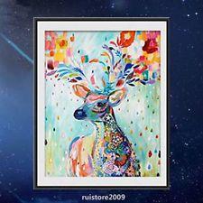 5D DIY Diamond Oil Painting Deer Mosaic Embroidery Kit Home Decor Cross Stitch
