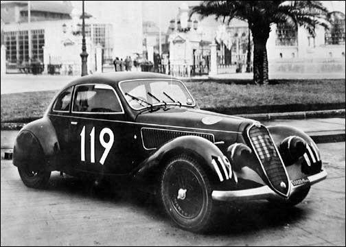ALFA ROMEO 6C 2300 B Mille Miglia 1935