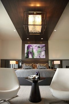 Paddock Residence contemporary bedroom