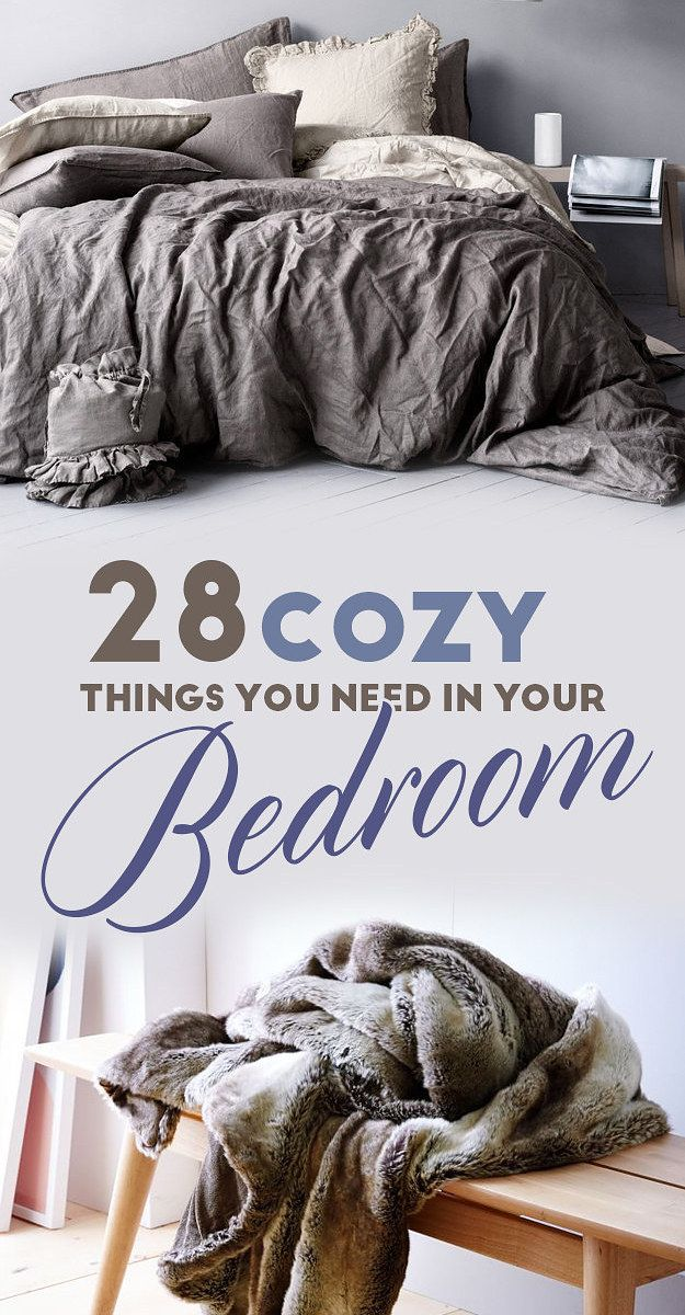 28 Cozy Things You Need For Your Bedroom