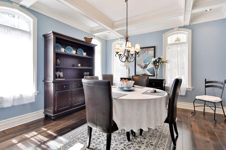 #golf #property #propriété #Laurentides #realestate #diningroom #salle-à-dîner